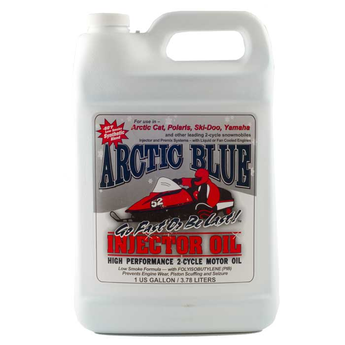Arctic Blue Synthetic Blend 2-Cycle Oil – 1 Gallon | Comolube