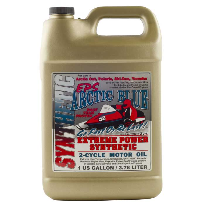 Arctic Blue Eps Synthetic 2 Cycle Oil 1 Gallon Comolube