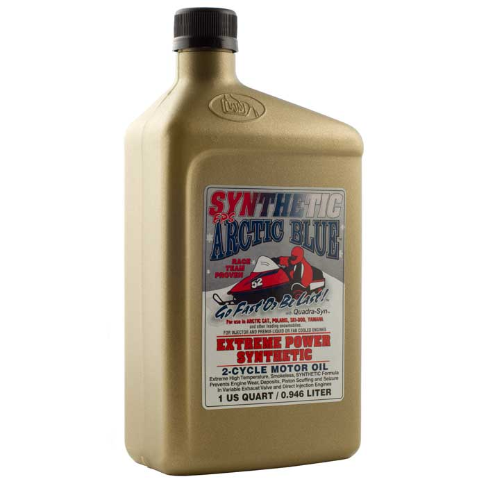 Arctic Blue EPS Synthetic 2-Cycle Oil – 1 Quart   Comolube