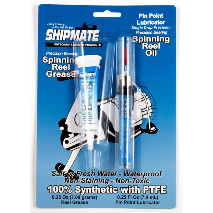 Shipmate Synthetic Reel Grease and Oil Blister Pack | Comolube