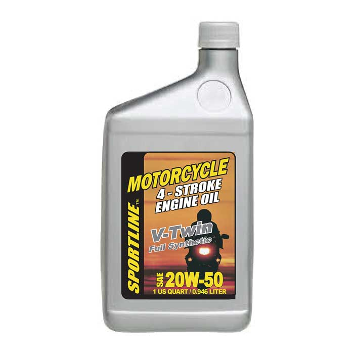 Sportline Motorcycle Oil Synthetic V Twin Se 20w 50 12 1 Quart Case Comolube