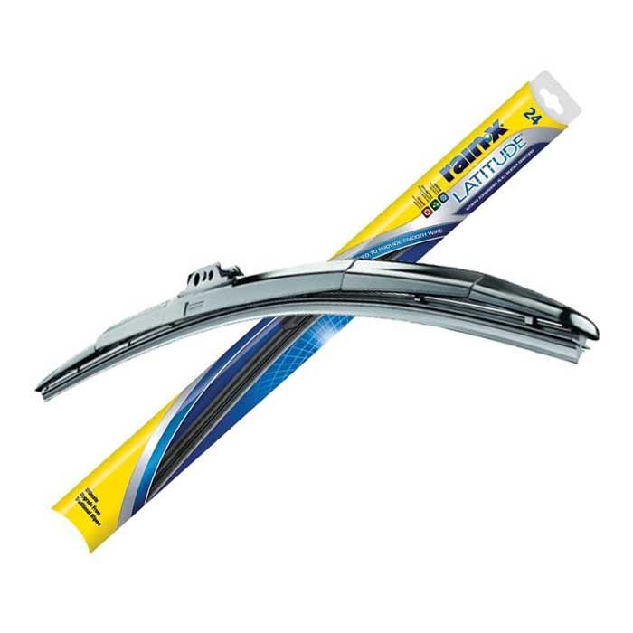 Rain‑X ® Latitude ® Water Repellency wiper blades provide an innovative 2-in-1 solution to both clear and repel the elements for ultimate driving visibility. These wiper blades not only give you the superior wipe quality you've come to expect from Rain‑X ® Latitude ® blades, but now also treat your windshield with a water repelling coating for the ultimate in driving visibility!