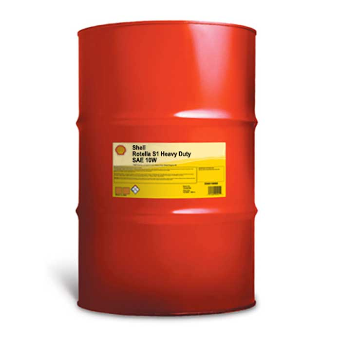 Shell Rotella T1 Sae 10w 55 Gallon Drum Comolube