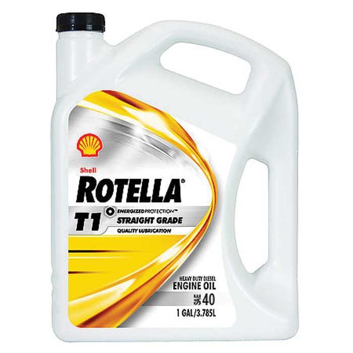 Shell rotella t1 sae 40 3 1 gallon case comolube for Shell diesel motor oil