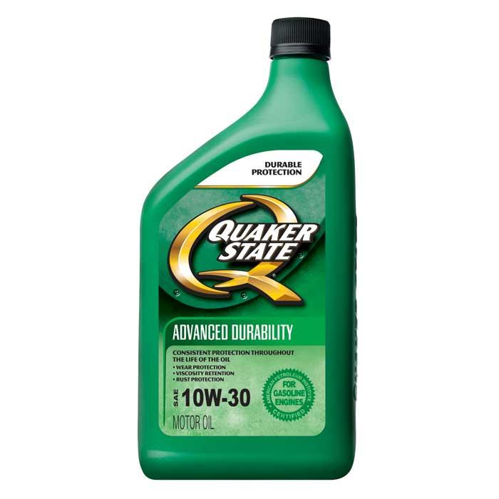 Quaker state advanced durability sae 10w 30 12 1 quart for Motor oil manufacturers in usa
