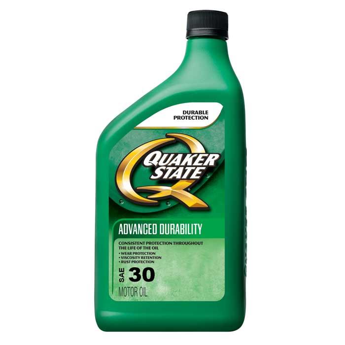 Quaker State Motor Oil Sae 30 12 1 Quart Case Comolube