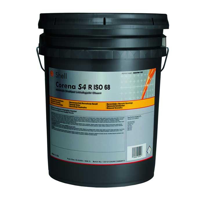 Shell Corena S4 R 68 5 Gallon Pail Comolube