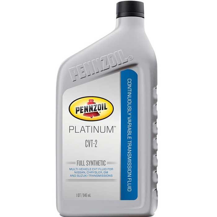 PENNZOIL Platinum CVT-2 Fluid – 6/1 Quart Case | Comolube
