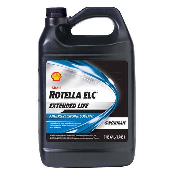SHELL Rotella ELC Extended Life Concentrate Antifreeze – 6/1