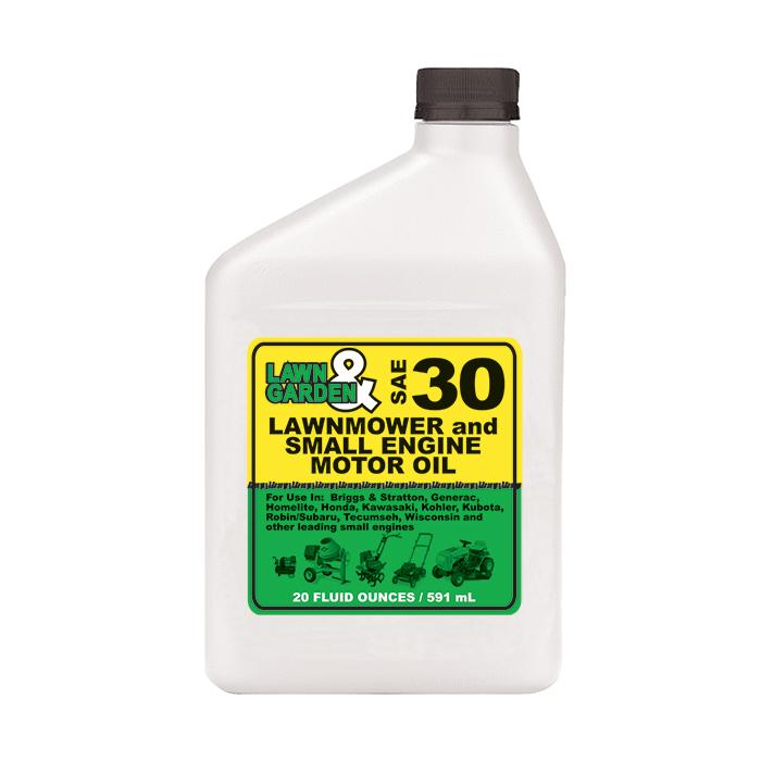 Lawn Garden 4 Stroke Small Engine Oil Sae 30 20 Oz